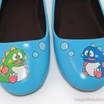 Bubble Bobble shoes Flats