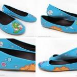 Bubble Bobble shoes Flats 2