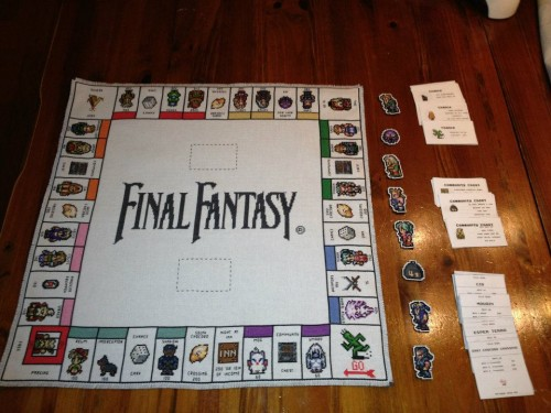 Final Fantasy III Monopoly set Image 1