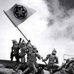 Flag on Iwo Jima