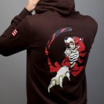 Hazuki Tiger hoodie back Sega Insert Coin Image