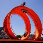 Hot Wheels loop stunt Image
