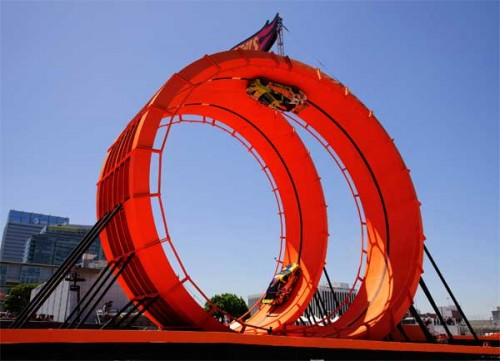 Hot Wheels loop stunt Image