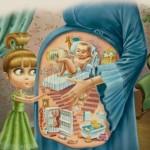 Inside Pregnant Woman