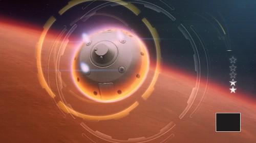 Mars Rover Landing Image 1