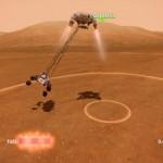 Mars Rover Landing Image 2