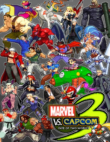 Marvel vs Capcom 3 Fate of Two Worlds Marvel by steamboy33
