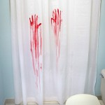 Murder Shower Curtain