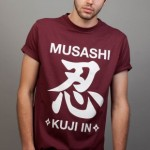 Musashi Ninja Magic tshirt Sega Insert Coin Image