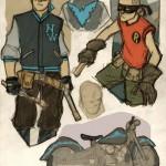 Nightwing & Robin Rockabilly