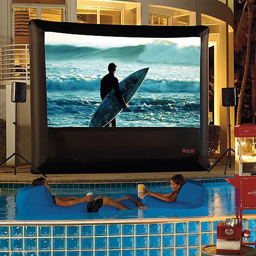 Outdoor PS3 Theater