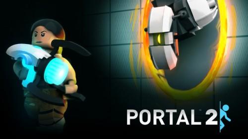 Portal 2 Lego Set Image 1