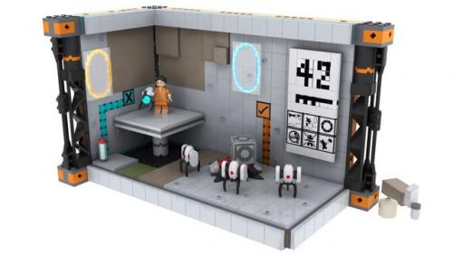 Portal 2 Lego Set Image 3