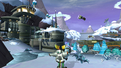Ratchet & Clank Collection snow Image