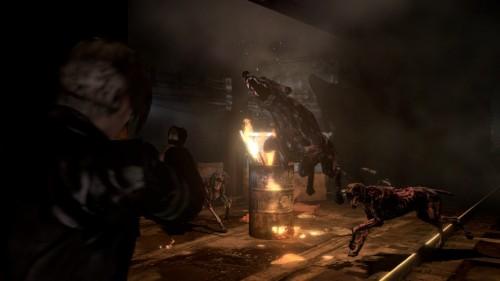 Resident Evil 6 Media Featuring Chris Leon Jake