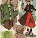 Riddler & Harley Quinn