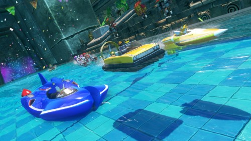 Sonic & All-Stars Racing Transformed Water Image