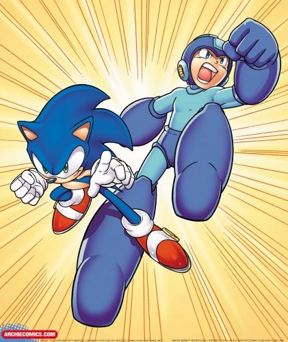 Sonic Mega crossover Archie Comics Image 2
