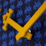Space Invaders Wall Clock 3