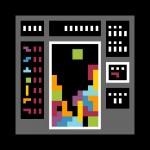 Tetris pixel art