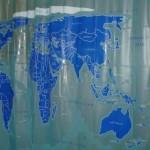 World Shower Curtain