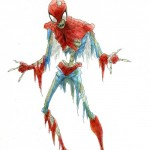 Zombie Spiderman