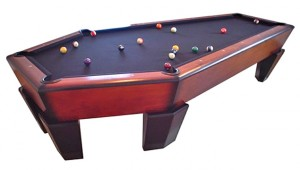 coffin pool table