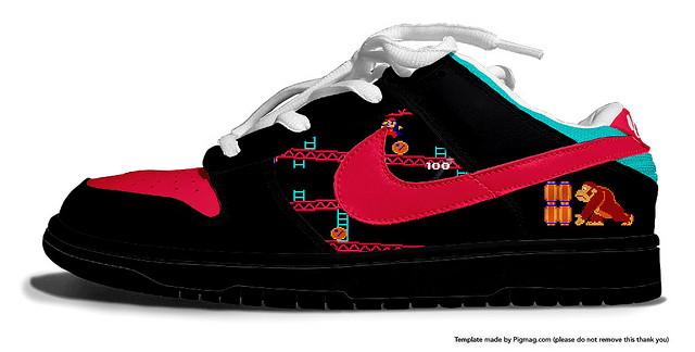 donkey kong shoes