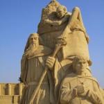 geeky sand sculptures 6