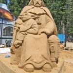 geeky sand sculptures 7