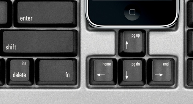 Matias One keyboard arrow keys