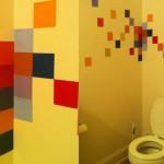 pixel art bathroom