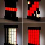 pixel art lamp