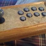 wooden arcade controller 1