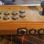 wooden arcade controller 2