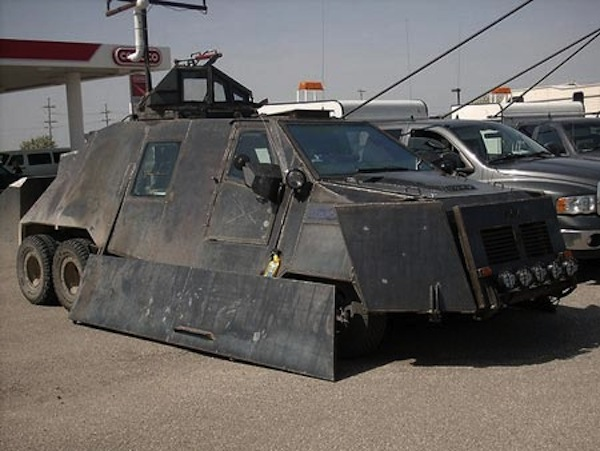 zombie-proof car