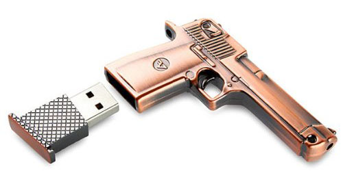 8-GB-Metal-Gun-USB-Flash-Memory-Drive