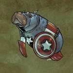 Captain America Manatee