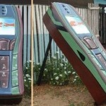 Cell Phone Coffin