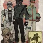 Darth Vader, Boba Fett & Stormtroopers