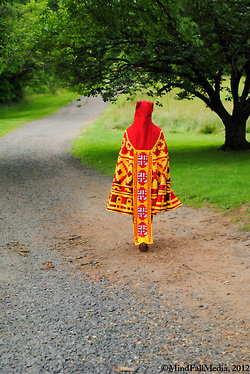 Journey costume 2 - picture by Ollie and Corey