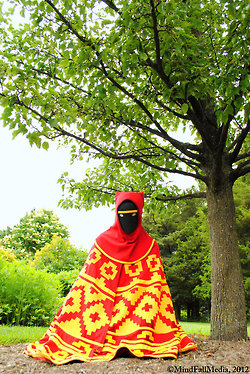 Journey costume - picture by Ollie and Corey