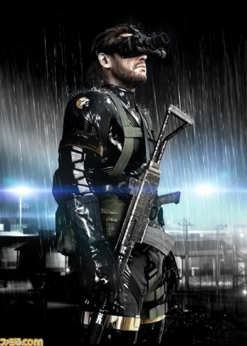 Metal Gear Solid Ground Zeroes art full image