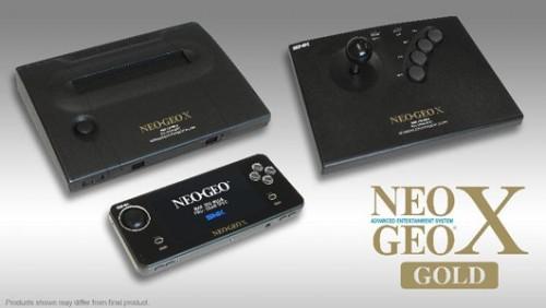 Neo Geo X Gold Image