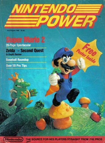 Nintendo Power Issue 1 Image