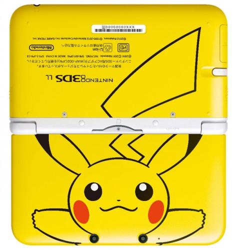 Pikachu Themed Nintendo 3DS XL 2