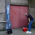 R2-d2 street art 2