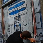R2-d2 street art 3
