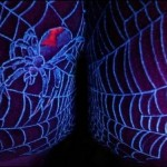 Spider UV Tattoo