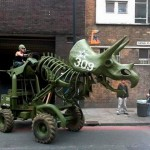 Triceratops Tractor 2